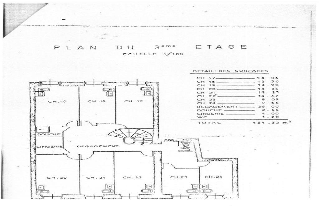 3 ème étage